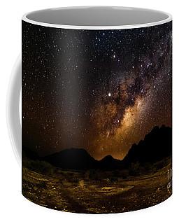 Milkyway Over Spitzkoppe 2, Namibia Coffee Mug