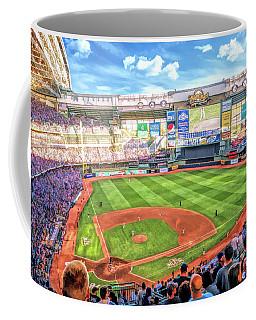 Miller Park Milwaukee Brewers Baseball Ballpark Stadium Coffee Mug