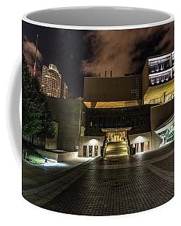 Coffee Mug featuring the photograph Milwaukee County War Memorial by Randy Scherkenbach