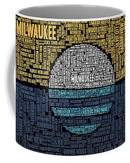 Milwaukee Neighborhood Word Cloud Coffee Mug