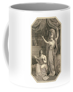 Minerva Directing Study To The  Attainment Of Universal Knowledge Coffee Mug