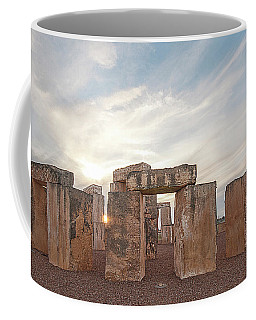 Coffee Mug featuring the photograph Mini Stonehenge by Scott Cordell
