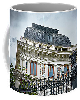 Ministry Of Agriculture Building Of Madrid Coffee Mug