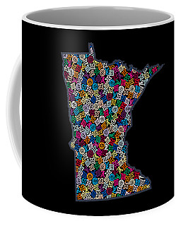Minnesota Map - 2 Coffee Mug