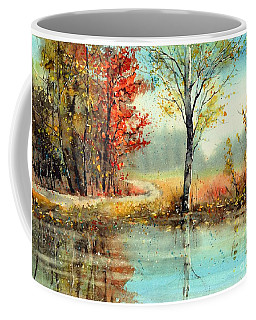 Mirror In The Lake Coffee Mug