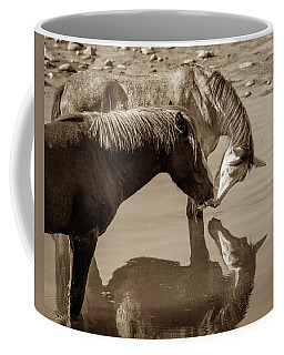 Coffee Mug featuring the photograph Mirrored Souls by Mary Hone