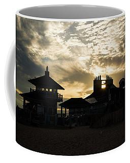 Misquamicut Beach Silhouette Coffee Mug