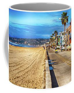 Mission Beach Boardwalk Coffee Mug