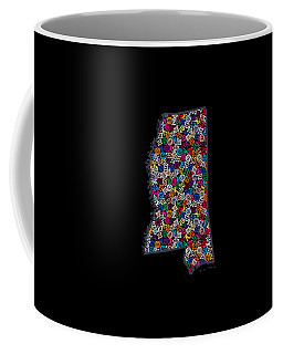 Mississippi Map - 2 Coffee Mug