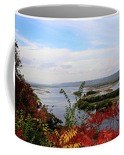 Mississippi River In The Fall Coffee Mug