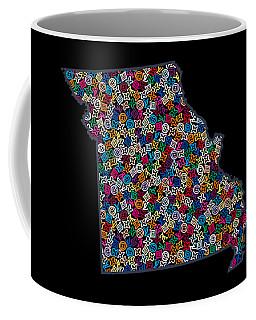 Missouri Map - 2 Coffee Mug