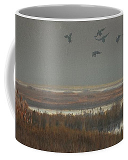 Misty Marsh Coffee Mug