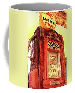 Mobilgas Special - Vintage Wayne Pump Coffee Mug