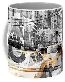 Modern Art Nyc Collage Coffee Mug