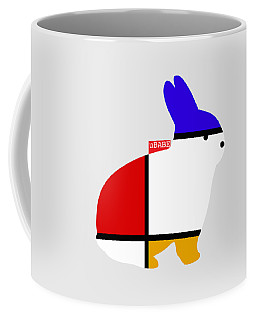 Modern White Coffee Mug