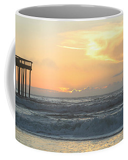 Coffee Mug featuring the photograph Moment Before Sunrise by Robert Banach