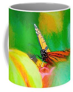 Monarch Butterfly Beautiful Smudge Coffee Mug