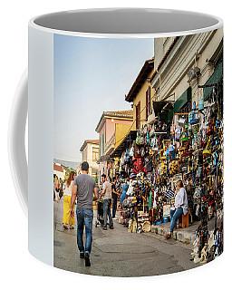 Coffee Mug featuring the photograph Monastiraki  Colours by Juan Contreras