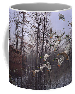 Monday Morning Mallards Coffee Mug