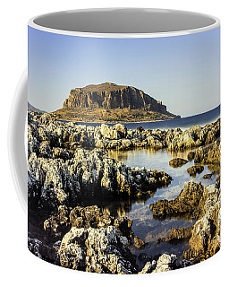 Monemvasia Rock Coffee Mug