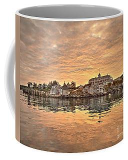 Monhegan Sunrise - Harbor View Coffee Mug