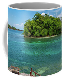 Monkey Island In Portland Jamaica Coffee Mug
