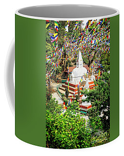 Coffee Mug featuring the photograph Monkey Temple by Scott Kemper