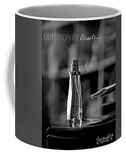 Monochrome Definition Of Beauty Coffee Mug