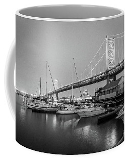 Monochrome Marina  Coffee Mug