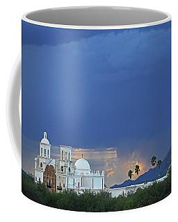 Monsoon Skies Over The Mission Coffee Mug