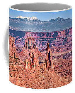Coffee Mug featuring the photograph Monster Tower by Andy Crawford