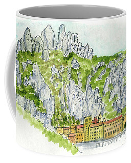 Mont Serrat, Spain Coffee Mug