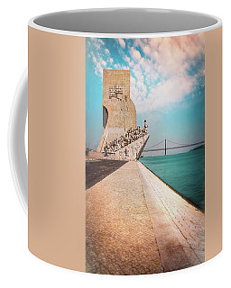 Vasco Da Gama Bridge Coffee Mugs