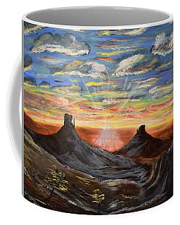 Monument Valley And Kokopelli Coffee Mug