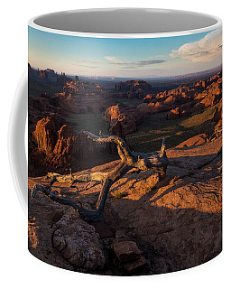 Monument Valley From Hunts Mesa Coffee Mug