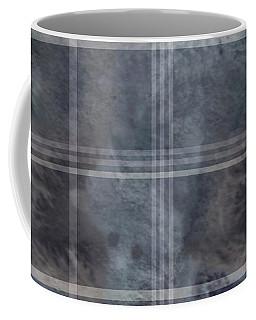 Moody Blue Plaid Coffee Mug