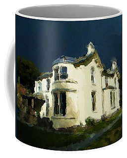 Moody Sky Over Allenbank Painting Coffee Mug