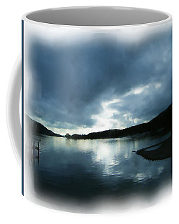Moody Sky Painting Coffee Mug