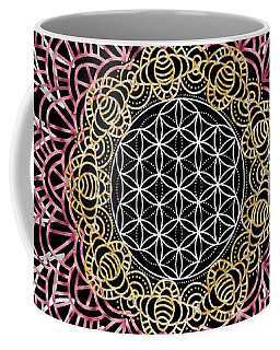 Moon Mandala Coffee Mug