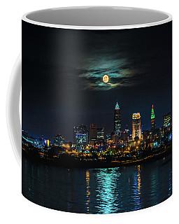 Moon Over Cleveland  Coffee Mug