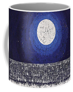 Moonbathing Original Painting Coffee Mug
