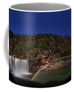 Moonbow At Cumberland Falls Coffee Mug