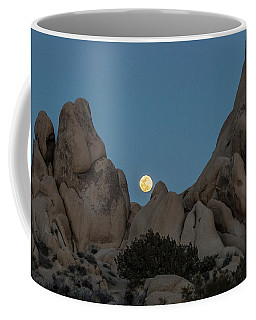 Moonrise In The Sight Coffee Mug