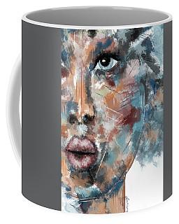 Moonshine-woman Abstract Art Coffee Mug