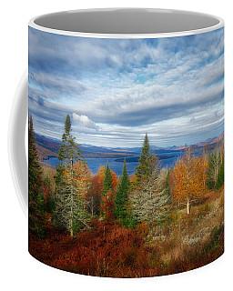 Mooselookmeguntic Lake Fall Colors Coffee Mug