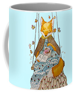 Morgan's Fox Coffee Mug