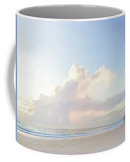 Morning Beach Walk 69x92 Coffee Mug