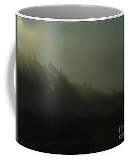 Coffee Mug featuring the photograph Morning Burn Off by Ann E Robson