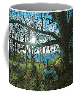 Morning Chat - Turkey Coffee Mug