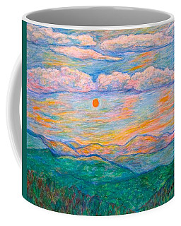 Coffee Mug featuring the pastel Morning Color Dance by Kendall Kessler